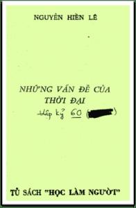 Những vấn đề của thời đại - Nguyễn Hiến Lê