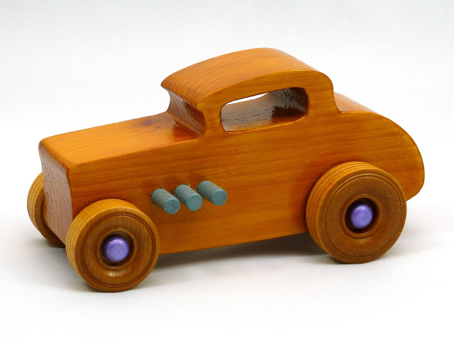 Wood Toy Cars, Wooden Cars, Wood Toys, Wooden Car, Wood Toy Car, Hot Rod, 1932 Ford, 32 Deuce Coupe, Little Deuce Coupe, Roadster, Race Car