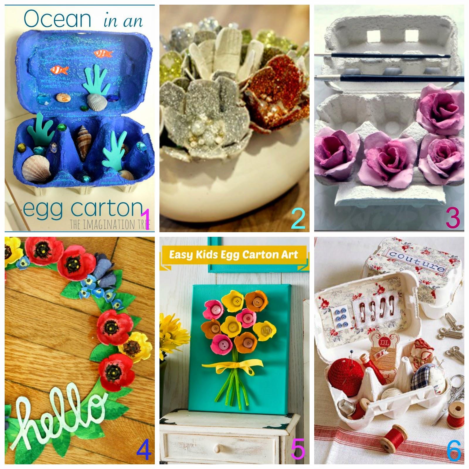 Ben noto Come riciclare i cartoni delle uova | donneinpink magazine QP48