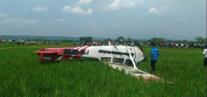 Pesawat Jatuh di Cirebon Disebut Layak Terbang