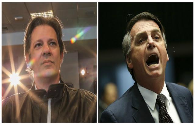 Diante de recusa de Bolsonaro de ir a debate, TV Globo não chamará Haddad
