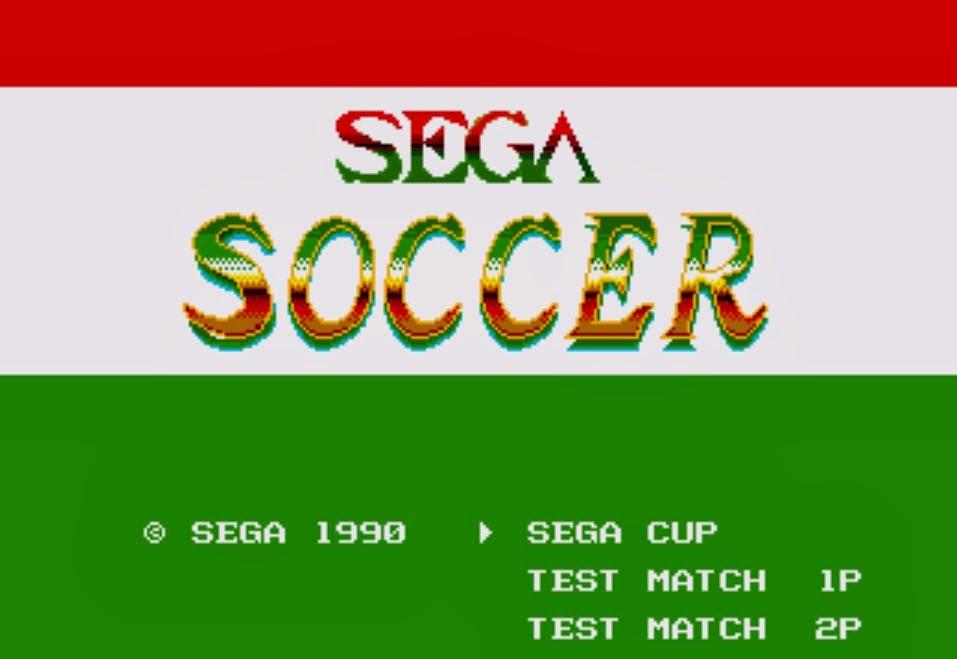 Clasicos De Los 8 16 Y 32 Bits Sega Soccer Wc Italia 90