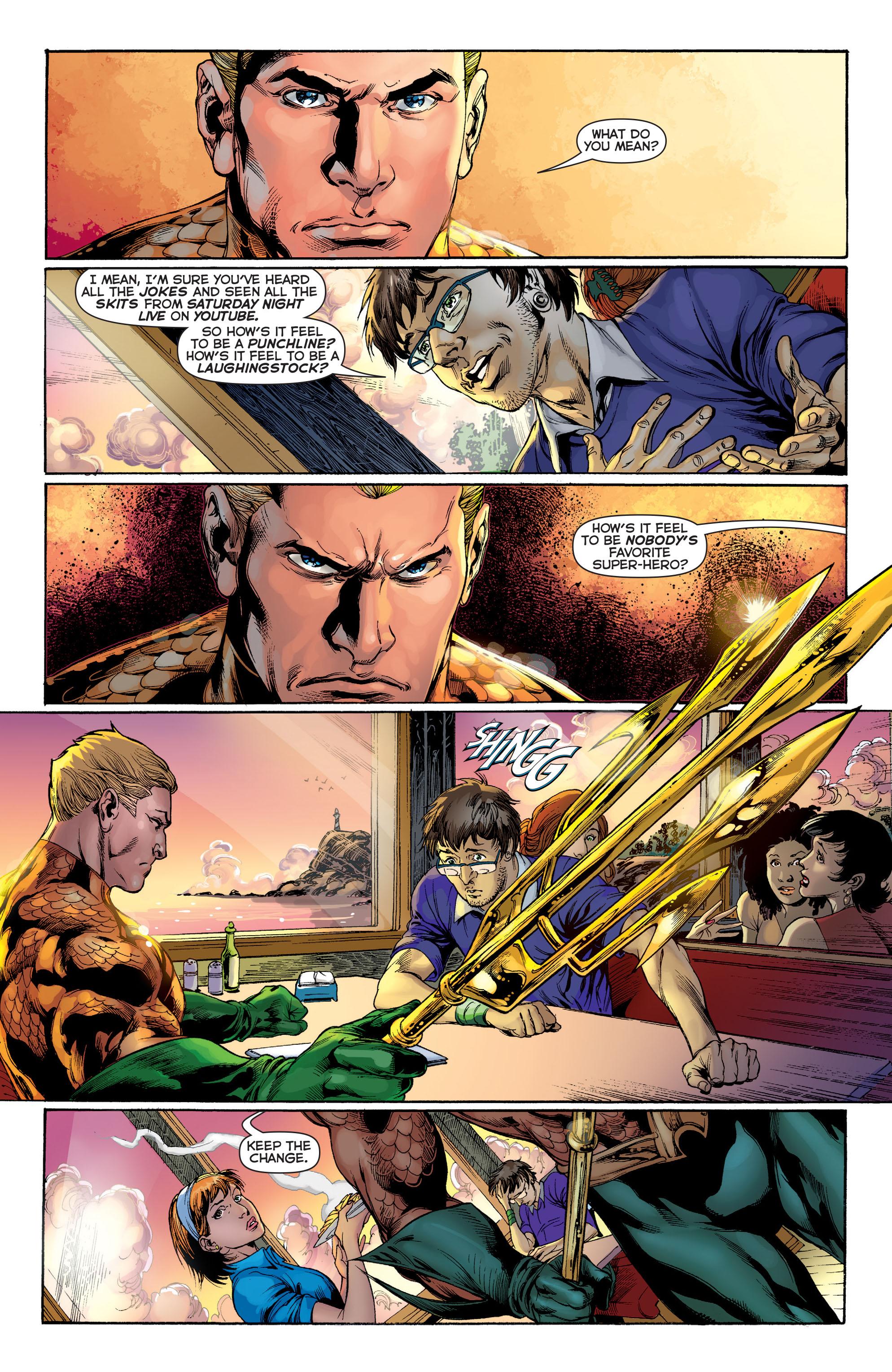 Read online Aquaman (2011) comic -  Issue #1 - 17