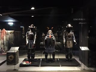 armaduras do período edo
