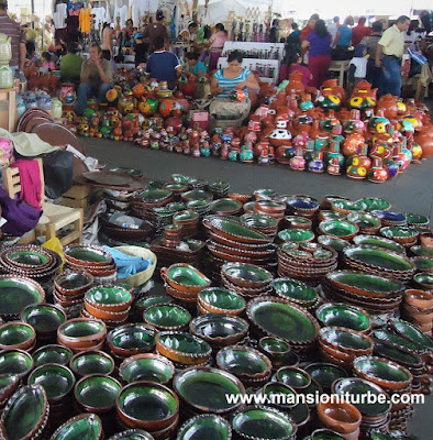 Palm Sunday Artisan Fair in Uruapan, Michoacan