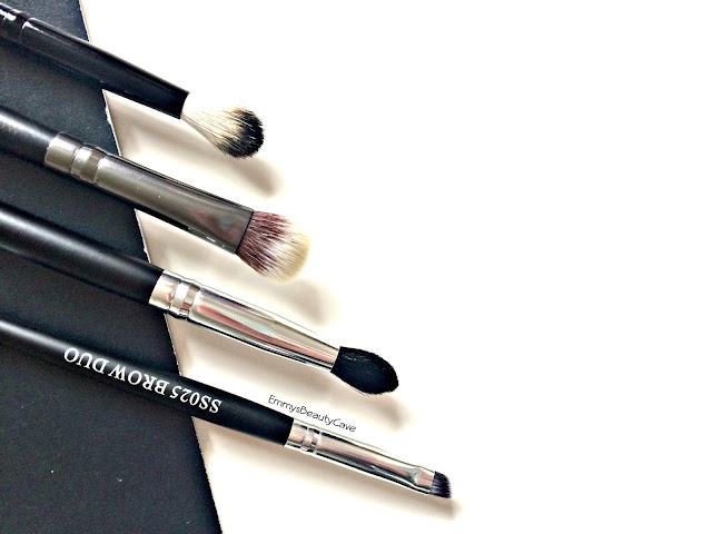 Crown Brush Eye Shadow Brushes Review, Budget Eye Brushes,