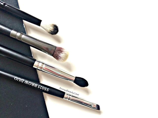 Crown Brush Eye Shadow Brushes Review, Budget Eye Brushes,