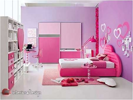 pink bedrooms for teen girls 4