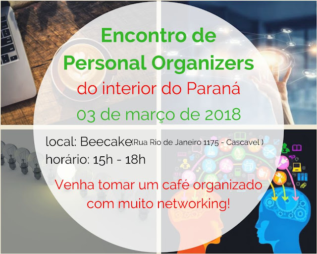 1º Encontro de Personal Organizers do Interior do PR