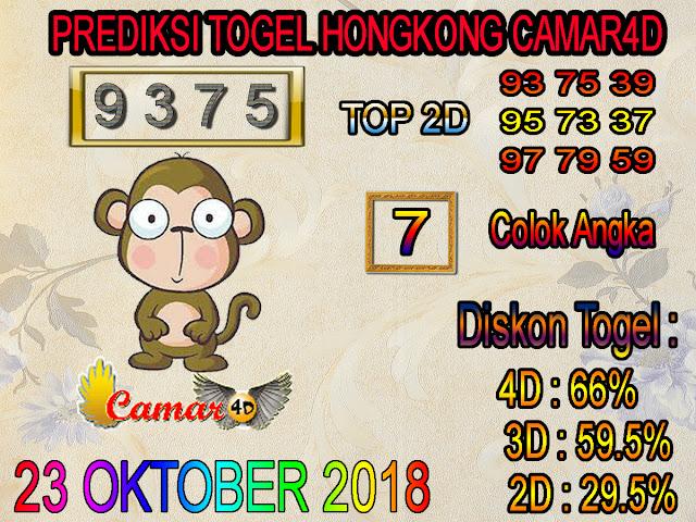 Prediksi Togel Hongkong 23 Oktober 2018