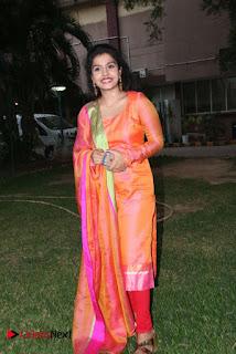 Actress Preethi Shankar Pictures in Salwar Kameez at Metro Movie Press Meet  0018