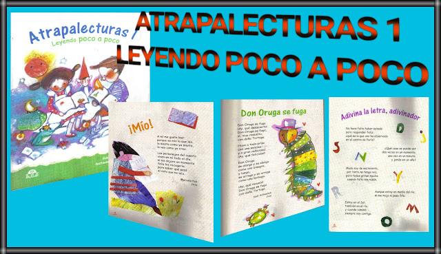 ATRAPALECTURAS 1-LEYENDO POCO A POCO