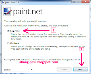 penginstalan paint.net