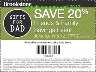 Brookstone coupons april