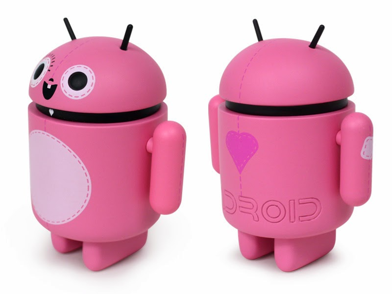 Most companies, of course, defend their trademark from copycats, and million-dollar lawsuits have been filed over the rights to corporate insignia. This one (Android logo) would remain free. Picture is a version of Pinkey.