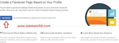 Convert your Facebook Profile into a Facebook Page