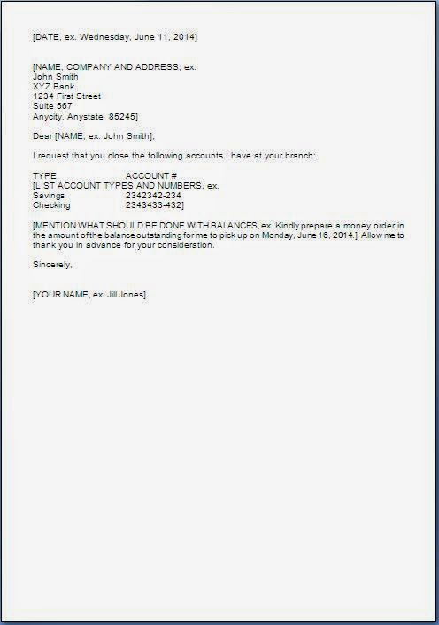 Letter To Bank Manager Requesting To Reactivate Account