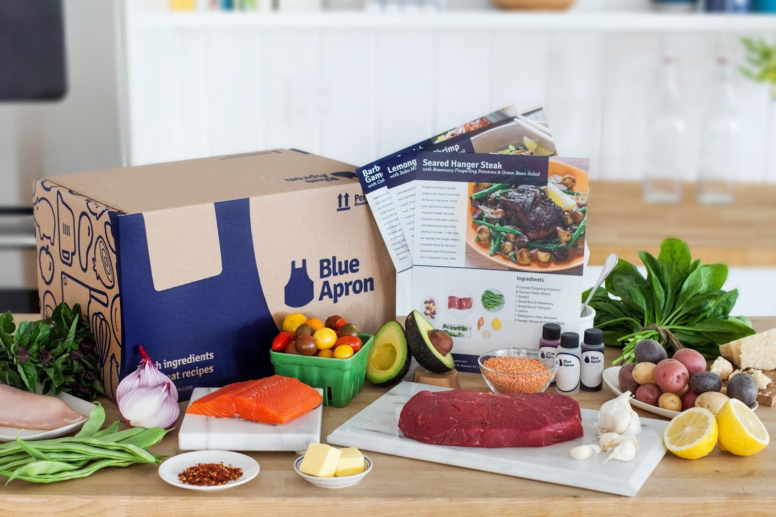 Blue apron lemongrass burger - Blue Apron 2 Person Box Review