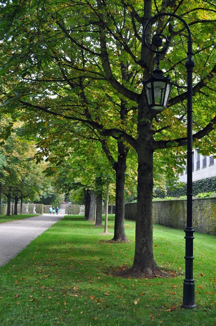Garden of Fulda palace, Germany