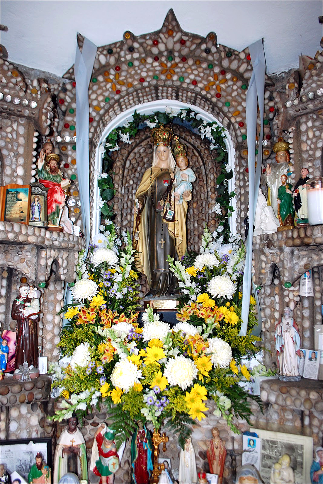 Il Regno: Praying the Novena to Our Lady of Mount Carmel at