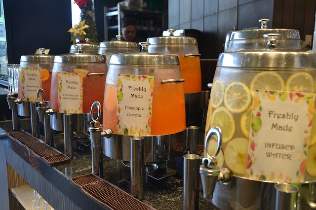 Freshly made juice