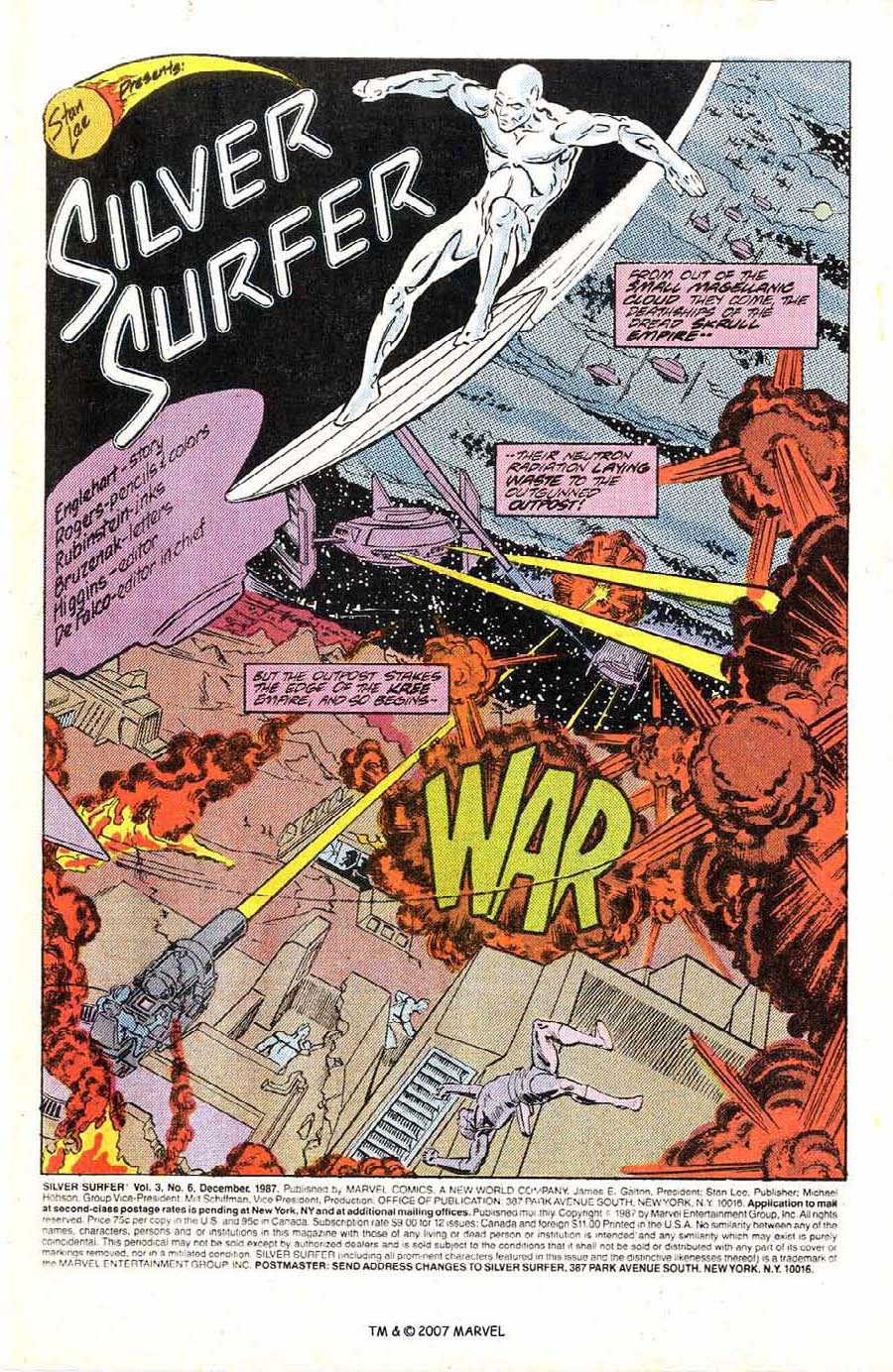 Read online Silver Surfer (1987) comic -  Issue #6 - 3