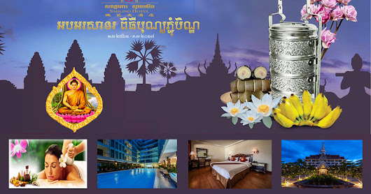 Smiling Hotel Welcome to Pchum Ben Ceremony Flash Sales.!