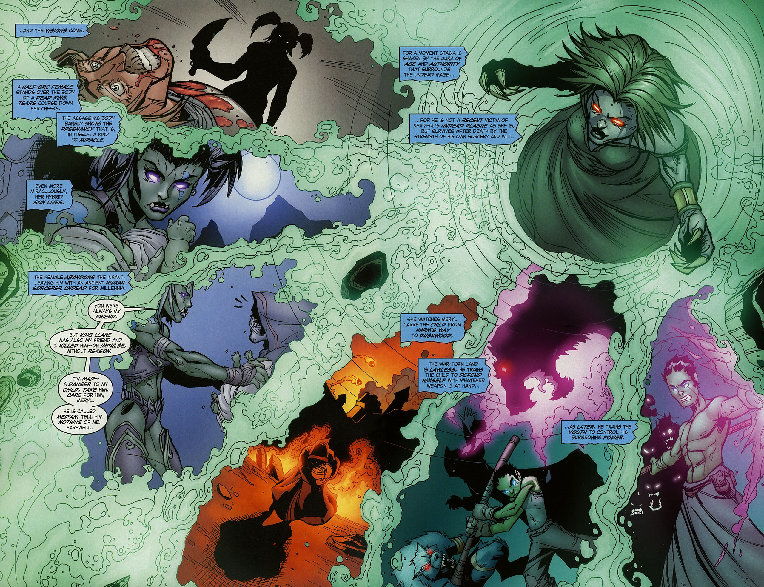 Read online World of Warcraft comic -  Issue #15 - 6