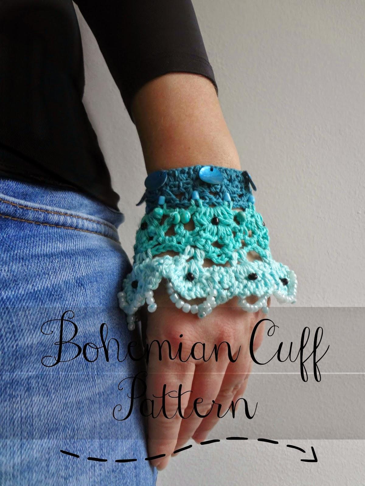 Little Treasures: Bohemian Cuff Pattern
