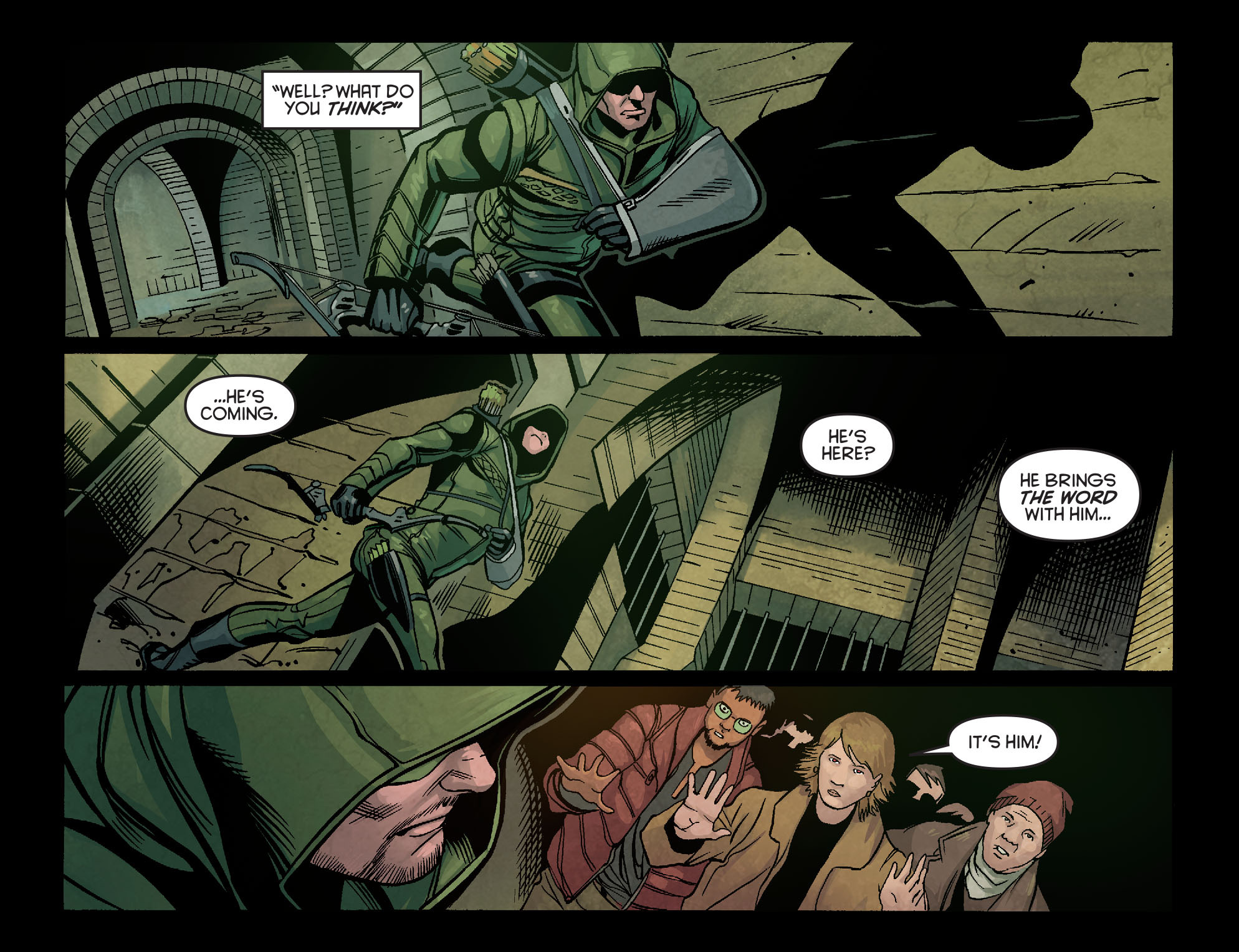 Read online Arrow: Season 2.5 [I] comic -  Issue #5 - 12