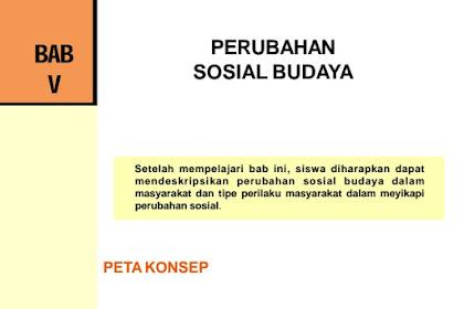 Jawaban Esai Bab 5 IPS Kelas 9 Halaman 126 (Perubahan Sosial Budaya)