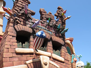 Toontown Fireworks Disneyland