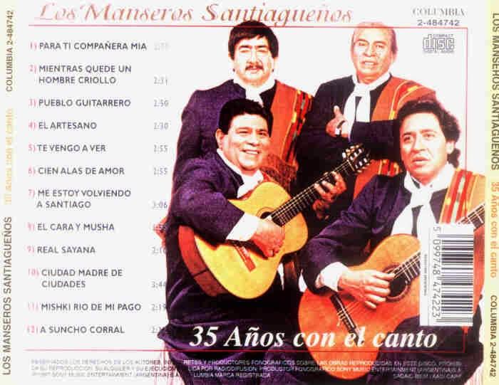 manseros santiagueños 35 años con el canto