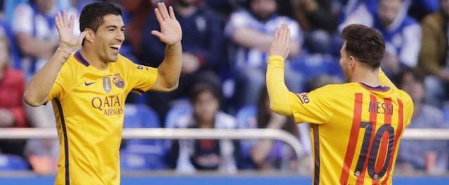 توقيت موعد مباراة برشلونة وديبورتيفو لاكورونيا اليوم السبت 15-10-2016 في بطولة الدوري الإسباني والقنوات الناقلة