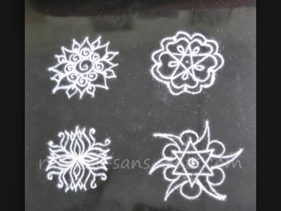 Easy rangoli designs beginners kolam by sudha balaji for Dots design apartment 8
