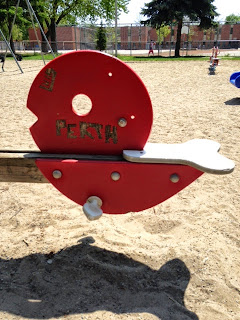 see-saw, perth square playground images