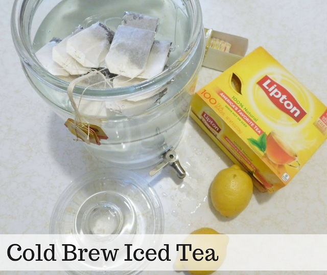 Cold Brew Tea - Perfect for Lazy Summer Days