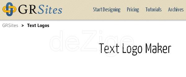 logo text generator