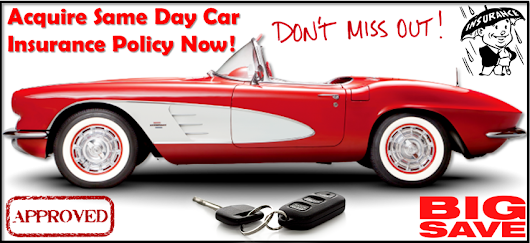 Same Day or One Day Car Insurance with No Deposit Online