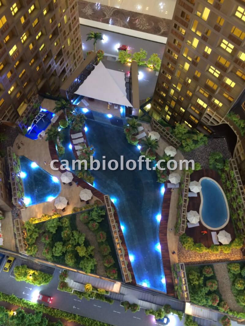Apartemen Cambio Lofts Alam Sutera Kolam Renang