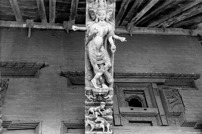 Népal, Katmandou, Kamasutra, Durbar Square, temple Jaganath, © L. Gigout, 1990