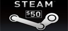 Steam Wallet 50$ grátis