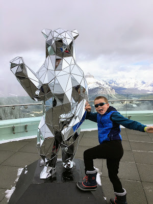 Family Adventures in the Canadian Rockies: April 2018