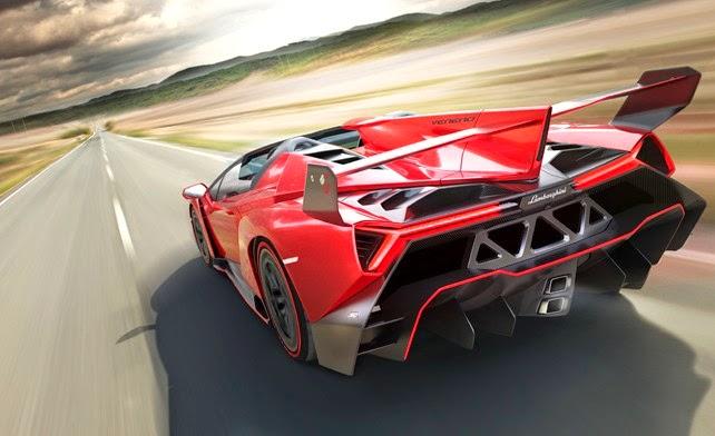 Gambar Mobil Termahal Di Dunia - Lamborghini Veneno Roadster
