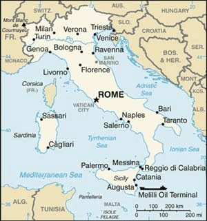italy map, map of italy, rome, florence, vatican, milan, venice
