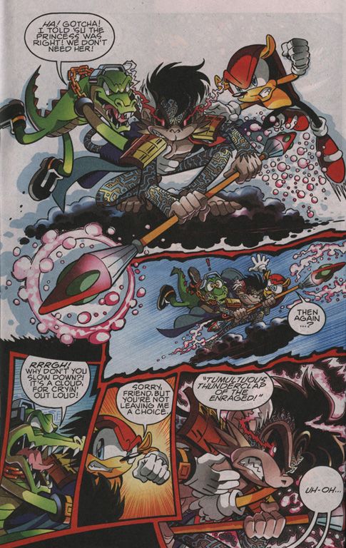 Read online Sonic The Hedgehog comic -  Issue #204 - 9