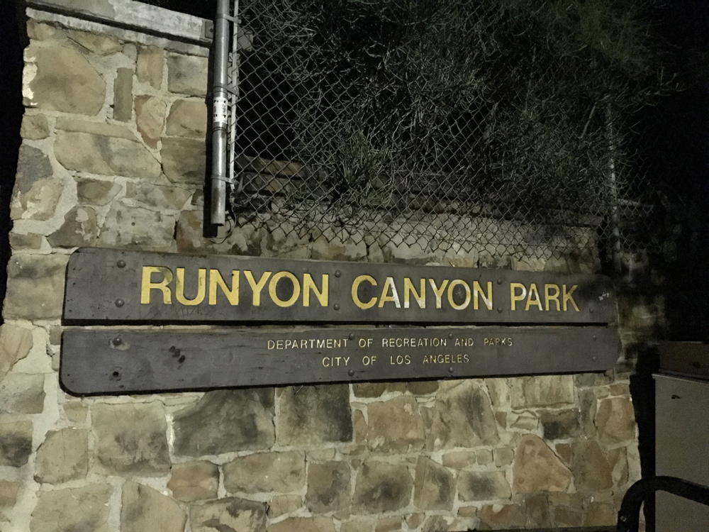 Runyon Canyon Park - Patikointia Hollywood-kukkuloilla 1