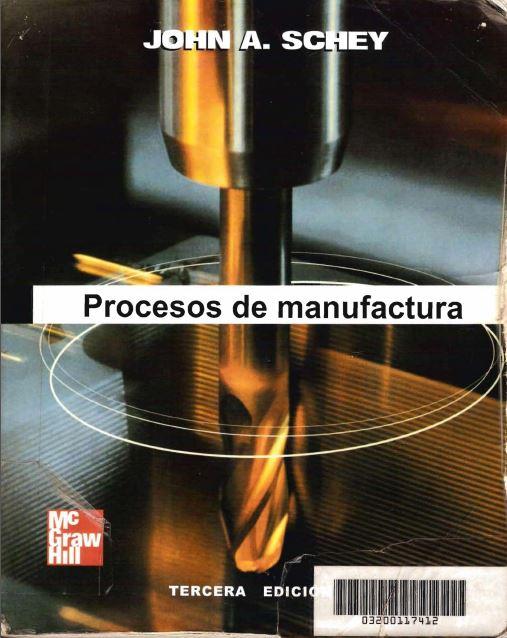 Procesos De Manufactura Groover Pdf