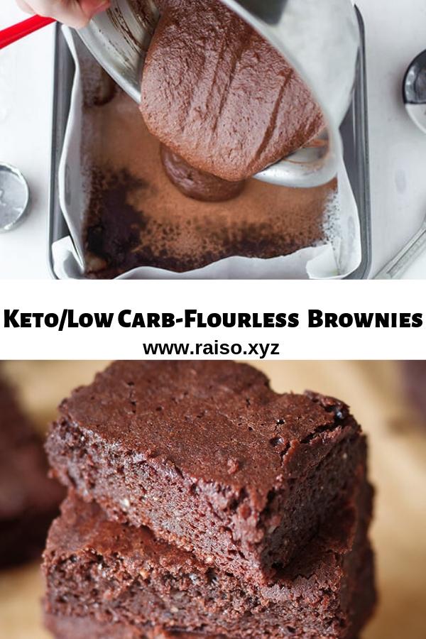 Keto/Low Carb-Flourless Brownies