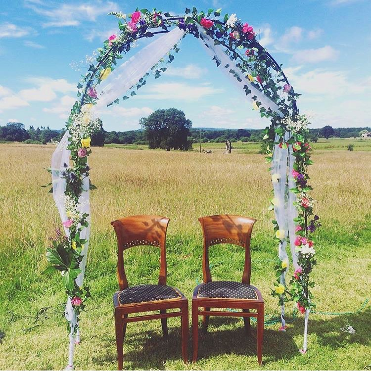 Wedding Arch Flowers Diy: How To Make A DIY Floral Wedding Arch / Emily May